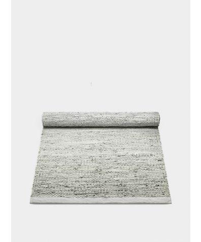 Leather Rug - Limestone
