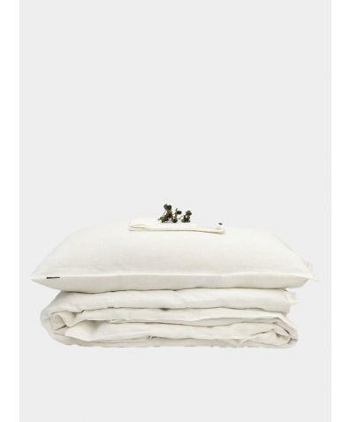 Linen Bedding Set - Off-White