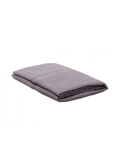 Lisbon Linen Pillowcases (Pair) - Pewter Grey