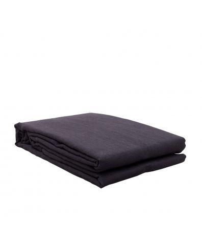 Lisbon Linen Duvet Cover - Slate Grey