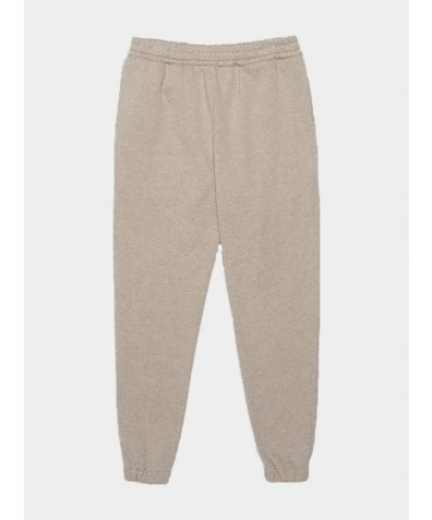 Organic Cotton Fleece Elland Sweatpants - Grey
