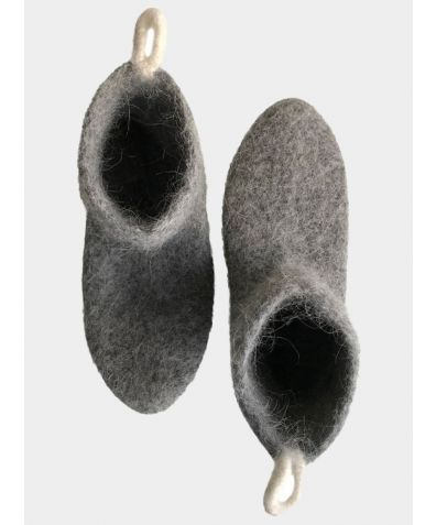 Icelandic Wool Slipper- Socks - Minimalist