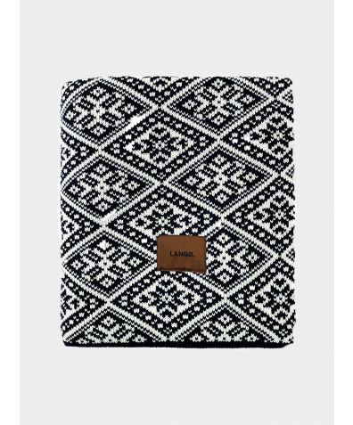 Wool Blanket - Black White