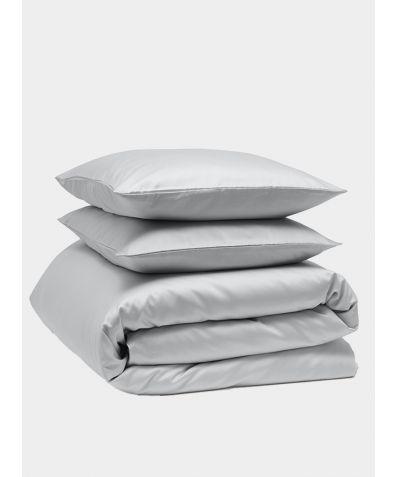 Luxe 300 Thread Count Cotton Bedding Bundle - Dove