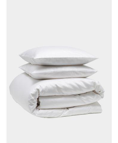 Luxe 300 Thread Count Cotton Bedding Bundle - Snow