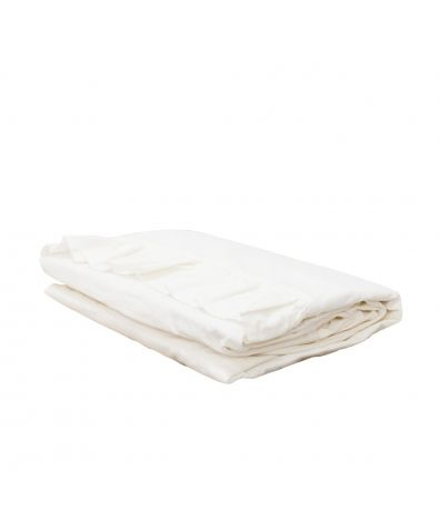 Malmo Ruffle Cotton Pillowcase - White