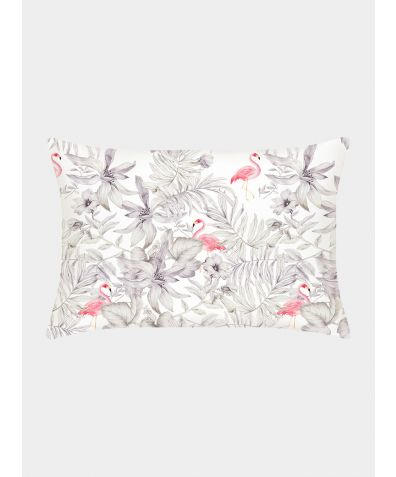 Silk Pillowcase 25 Momme - Flamingos