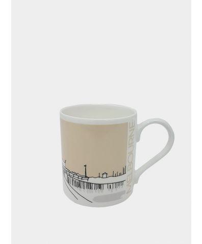 Cityscape Mug - Melbourne