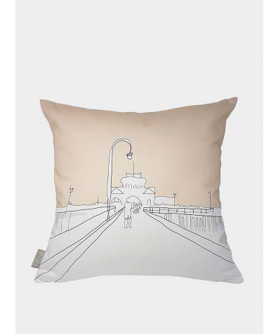 Cityscape Cushion - Melbourne