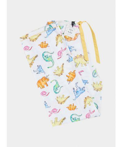 Men's Cotton Pyjama Trouser - Dino