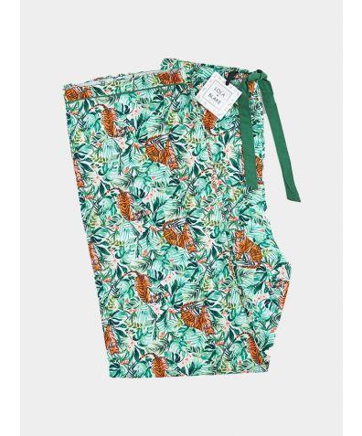 Men's Cotton Pyjama Trouser - Jungle