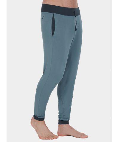 Mens Nattwell® Sleep Tech Cuff Trousers - Faded Teal