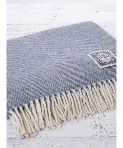 Super Soft Reversible Throw - Sea Mist