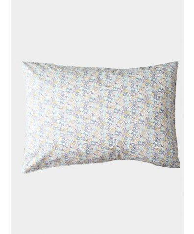 Liberty Print Pillowcase - Michelle Sea Green