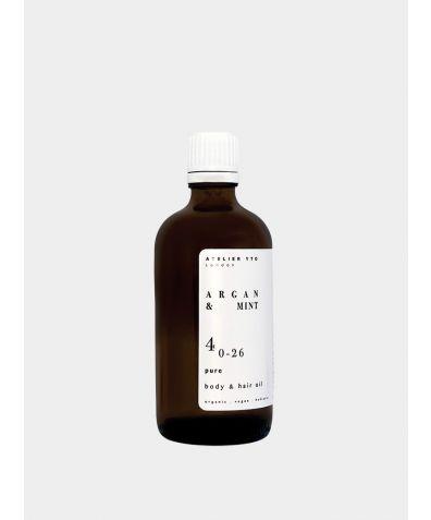 Argan + Mint Body And Hair Oil, 100ml
