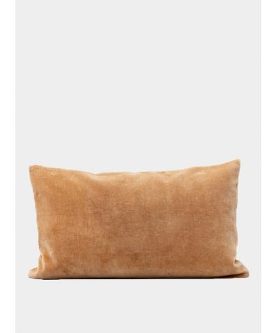 Misi Velvet Cushion - Camel