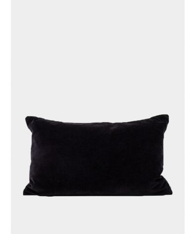 Misi Velvet Cushion - Black