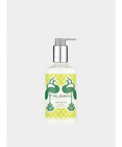 Lime Vetiver Body + Hand Lotion, 300ml