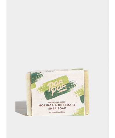 Moringa & Rosemary Natural Soap, 100g