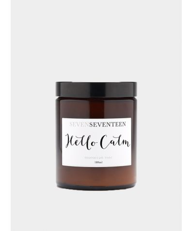 Hello Calm / Moroccan Rose Candle
