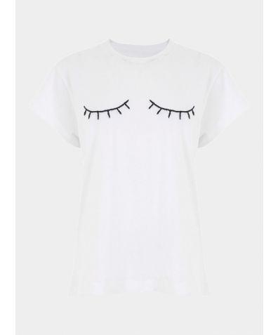 Classic Oversized T-Shirt - Eyelid