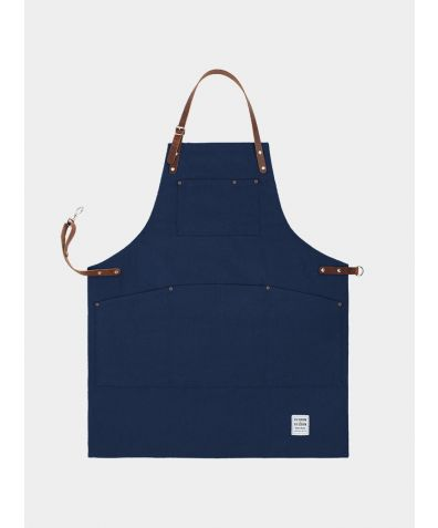 Original Apron with Leather - British Navy