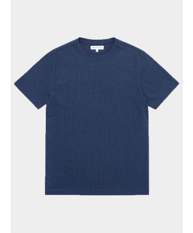 Relax Cotton T-Shirt - Navy Stripe