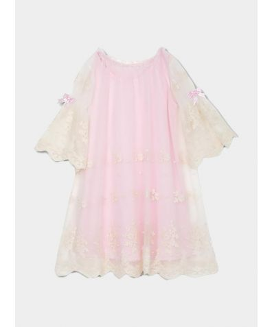 Girls Nicole Nightgown - Ivory