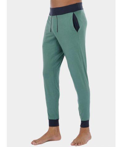 Mens Nattwell® Sleep Tech Trousers - Night Fern