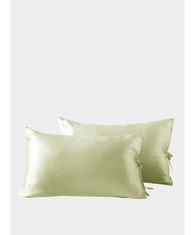 Classic Silk Pillowcase - Light Green