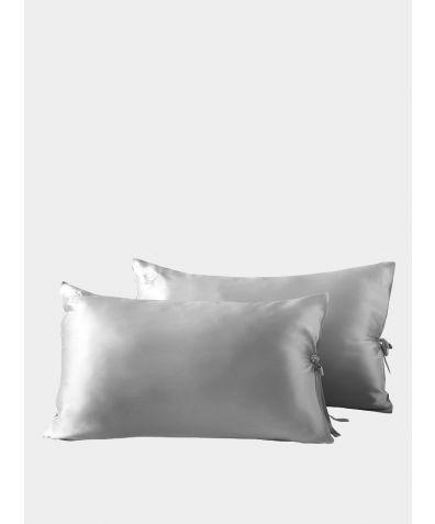 Classic Silk Pillowcase - Grey
