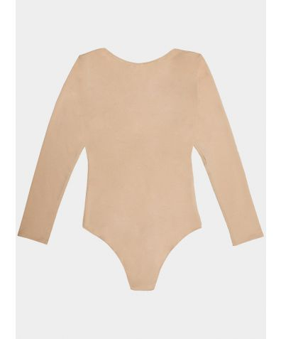 The SALON Bodysuit - Nude