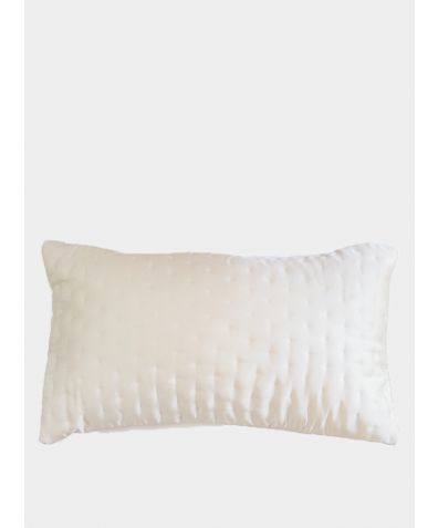 Embroidered Luxury Pillowcase - Nude