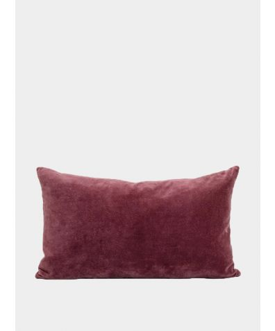 Misi Velvet Cushion - Pomegranate