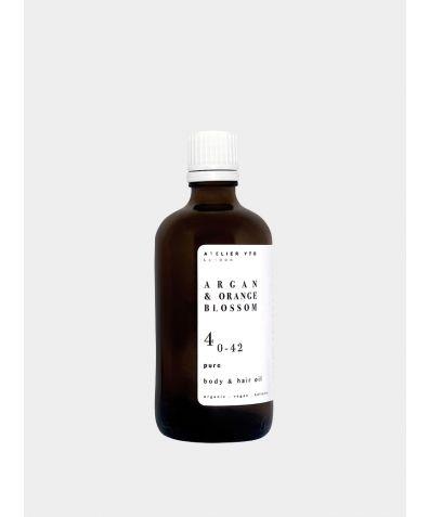 Argan + Orange Blossom Body And Hair Oil, 100ml