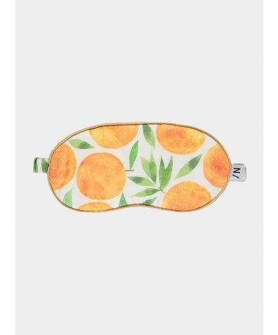 Organic Bamboo Sleep Mask - Sweet Clementine