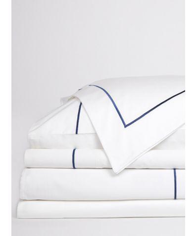 Regale Organic Cotton Duvet Cover - Navy