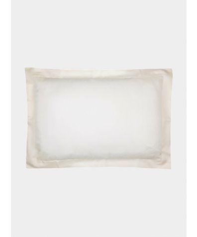 Silk Oxford Pillowcase - Ivory
