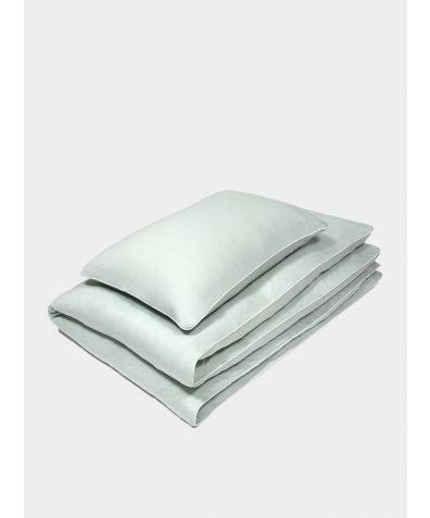 Merino Bed Set – Pale Aqua