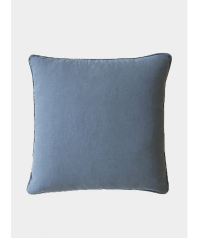 Linen Cushion Cover - Parisian Blue