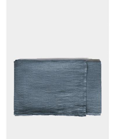 Linen Waffle Towels - Parisian Blue