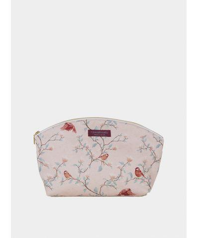 Wash Bag - Parus Pink Birds