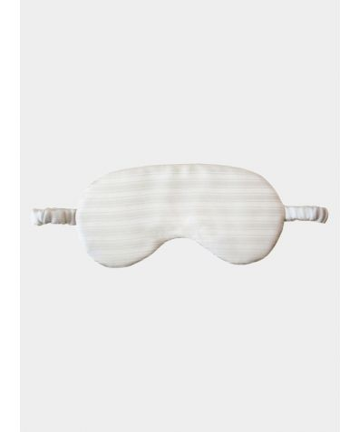 Silk Sleep Mask - Pearl White