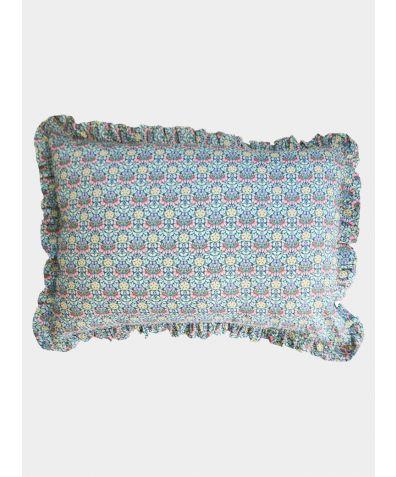 Liberty Print Frill Pillowcase - Persephone