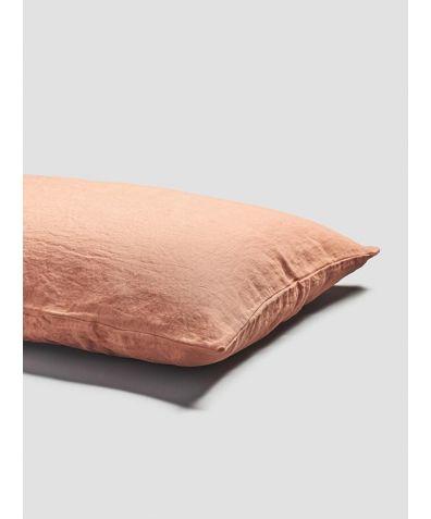 Linen Pillowcases (Pair) - Burnt Orange