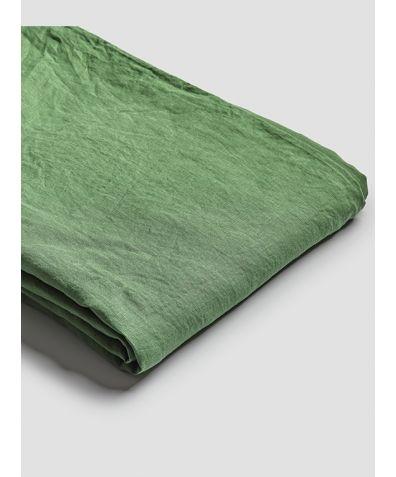 Linen Duvet Cover - Forest Green
