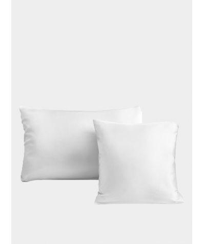Silk Pillowcase - Bella White