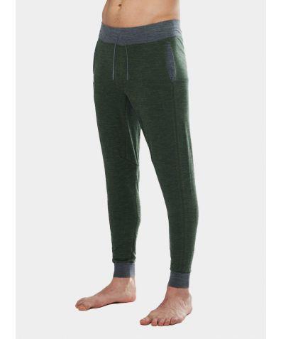 Mens Nattwarm® Sleep Tech Trousers - Pine Green