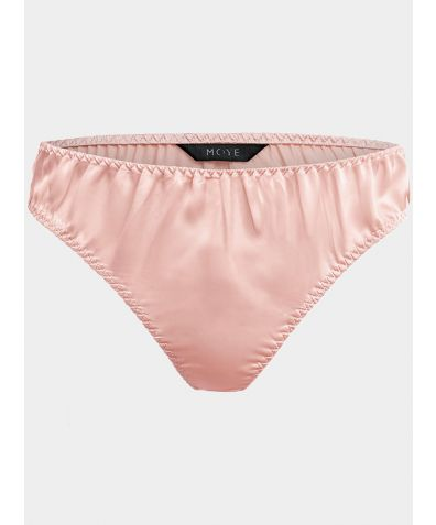 Silk Briefs - Karlie Pink