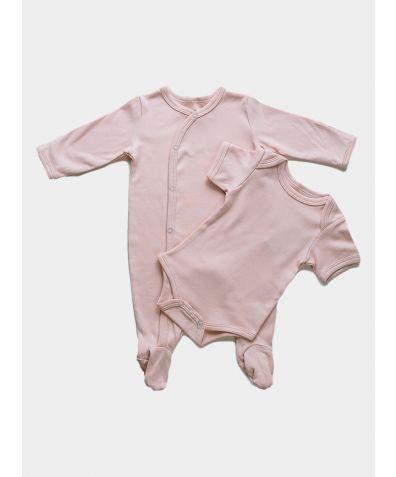 2-Piece Organic Baby Gift Set - Pink